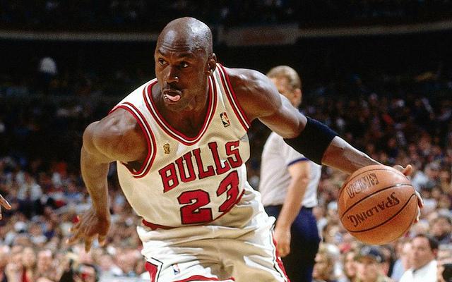 Michael Jordan on the Court
