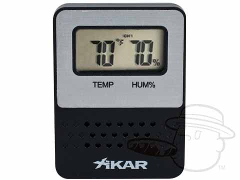 Digital Hygrometer with Temperature and Humidity Display